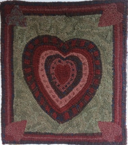 """Print Maker's Heart Kit 21""""H x 18"""" Pattern and wool - $130"""